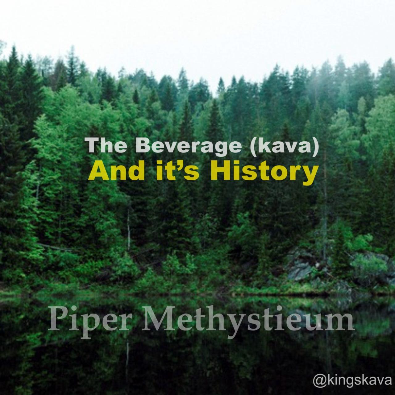 Kava history
